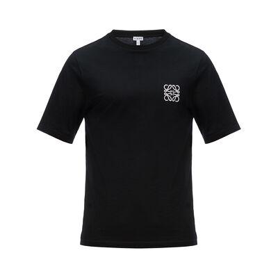 LOEWE アナグラム T-シャツ ブラック front
