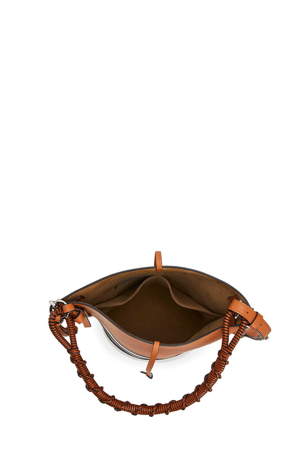 LOEWE Gate Bucket Handle Marine Black/White front