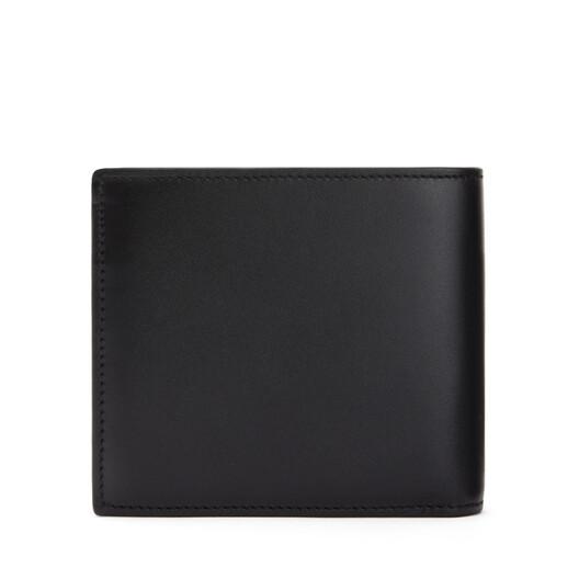 LOEWE Billetero Con Monedero Brand Negro front