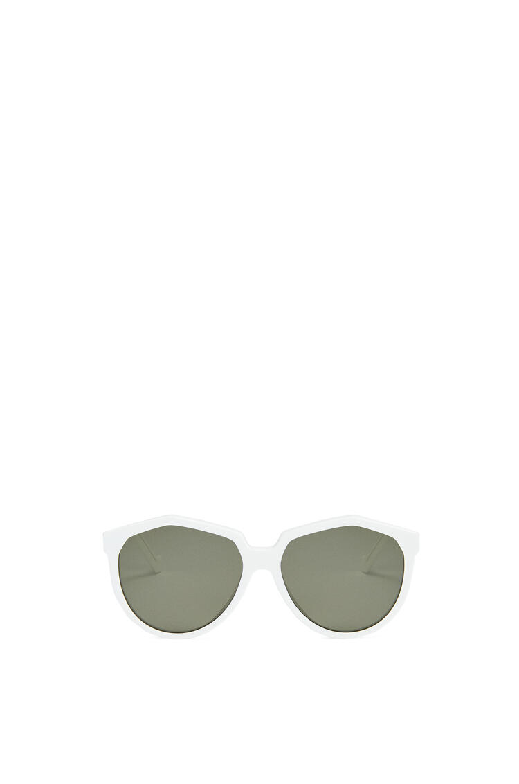 LOEWE Oversized Sunglasses in acetate Off-white pdp_rd