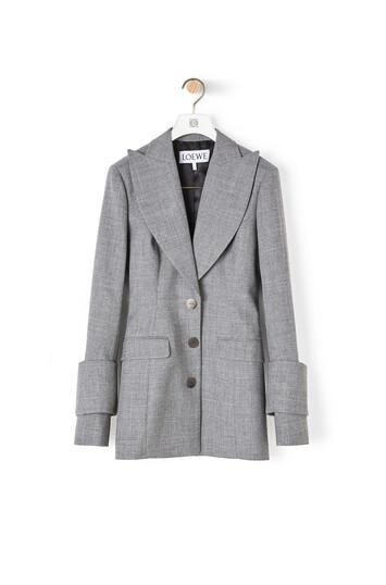 LOEWE Jacket Grey front
