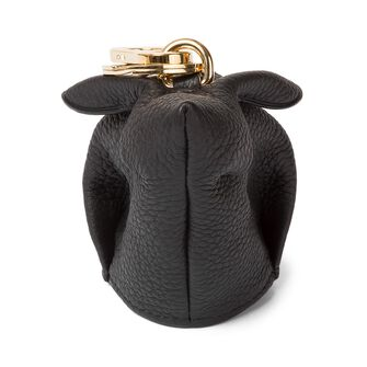 LOEWE Bunny Charm 黑色 front