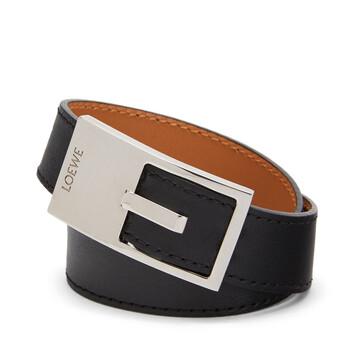LOEWE Buckle Bracelet 黑色 front
