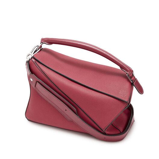 LOEWE Puzzle Bag 覆盆莓色 all