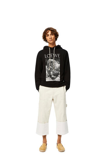 LOEWE Lord of the flies hoodie in cotton Black pdp_rd