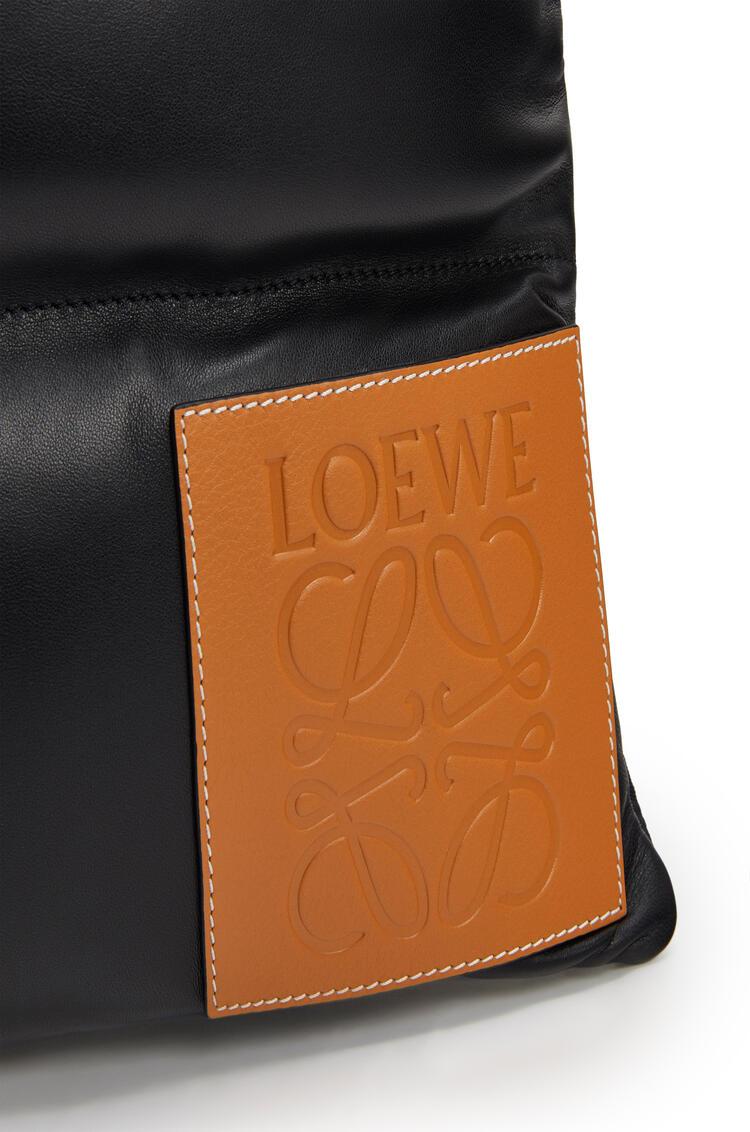 LOEWE Puffy Vertical tote bag in  nappa calfskin 黑色 pdp_rd