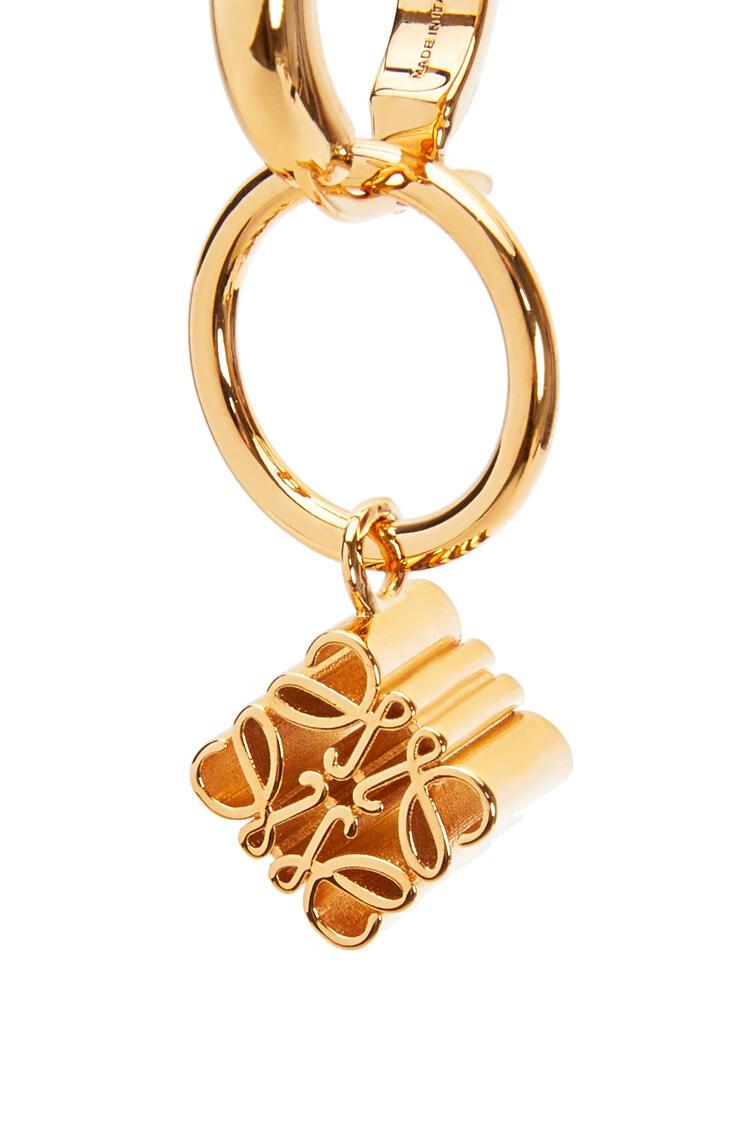 LOEWE Anagram Asymmetric earrings Gold pdp_rd