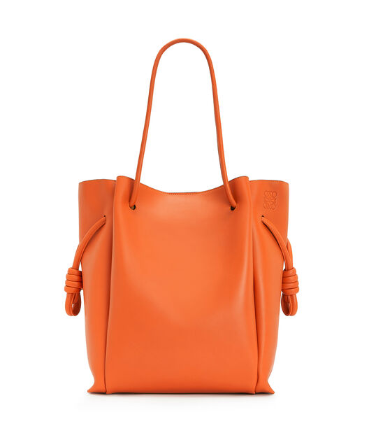 LOEWE Flamenco Knot Tote Ginger Color front