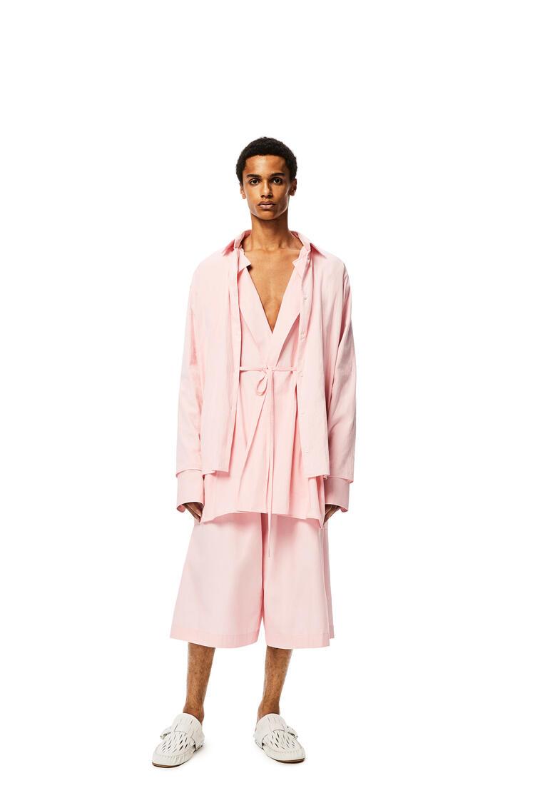 LOEWE 棉质双层半身裙 Baby Pink pdp_rd