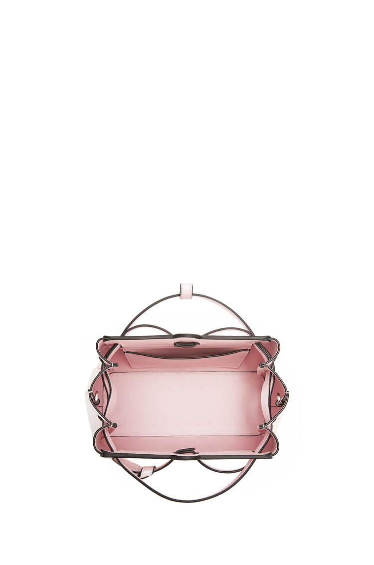 LOEWE Mini Lazo Bag In Pearlized Box Calfskin Icy Pink pdp_rd