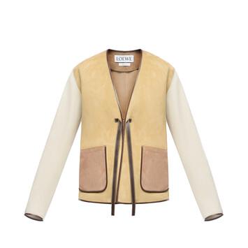 LOEWE Patch Pocket Jacket Oro front