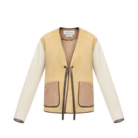 LOEWE Jacket ゴールド all