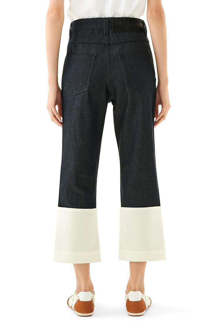 LOEWE Fisherman Jeans Navy Blue pdp_rd