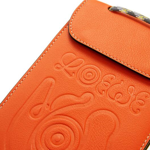 LOEWE Eye/Loewe/Nature Neck Pocket Orange front