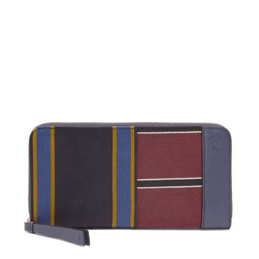 LOEWE Zip Around Wallet Varsity Multicolor/Marine all