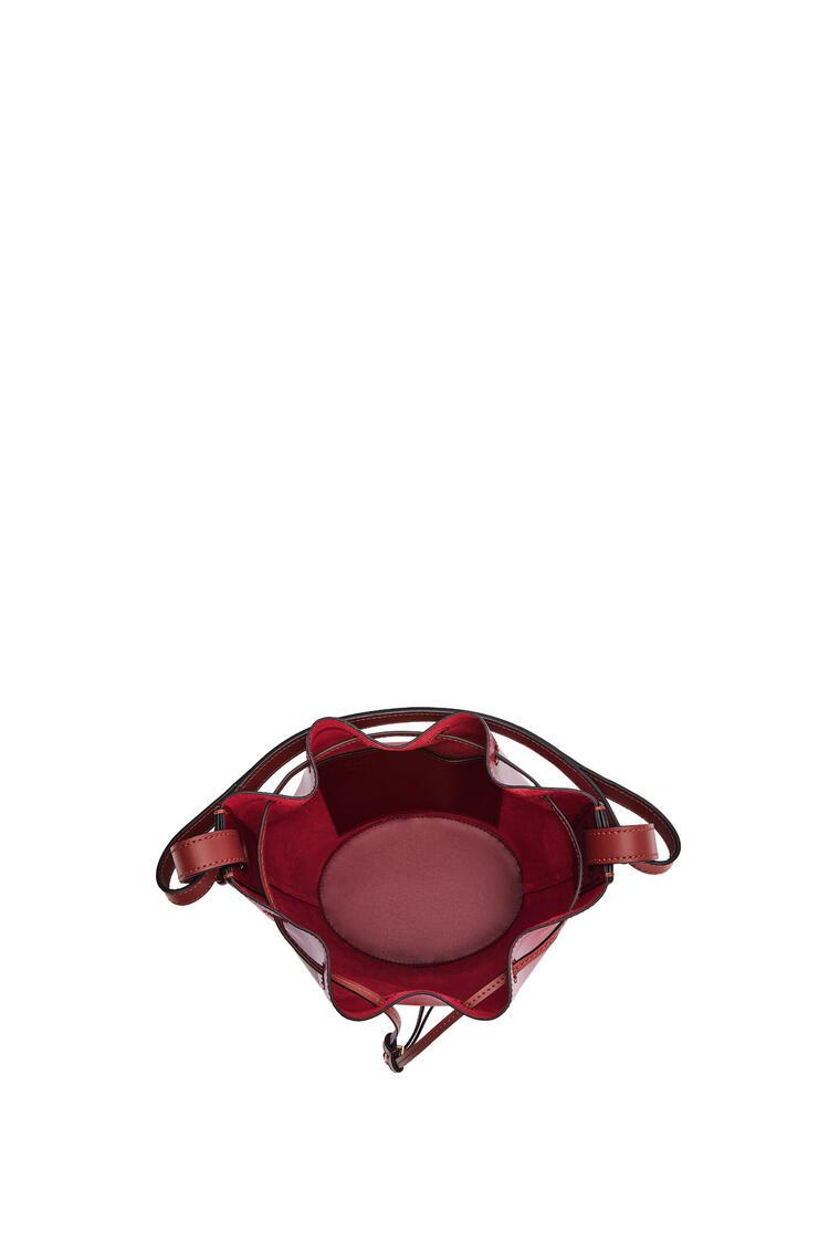 LOEWE Bolso Balloon pequeño en napa Rojo Profundo/Oxido Oscuro pdp_rd