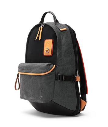 LOEWE Eye/Loewe/Nature Backpack Black front