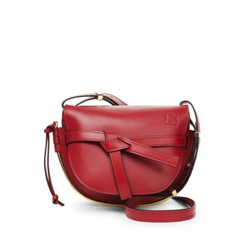 LOEWE Gate Frame Small Bag Oxblood front b7bf0fc9297a2