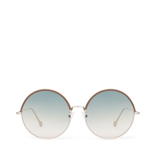 LOEWE Round Sunglasses Brown/Gradient Sand front