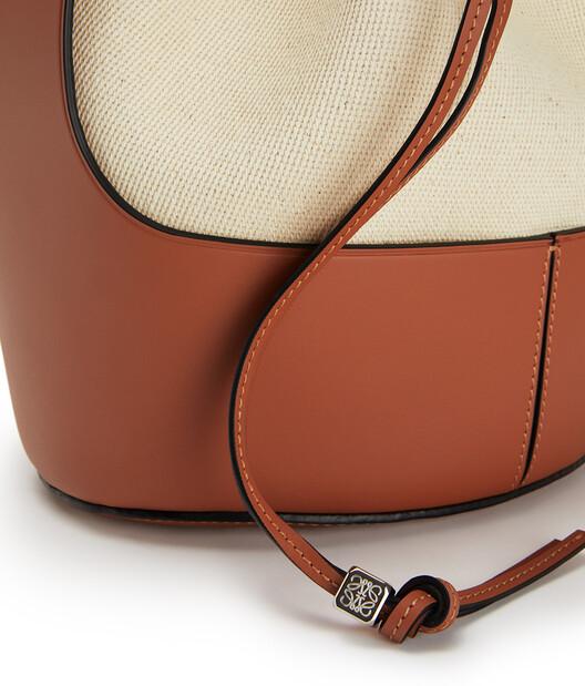 LOEWE Balloon Bag 亞麻色/棕褐色 front