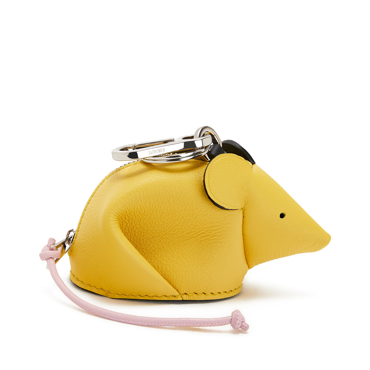 LOEWE Mouse Charm Yellow/Candy front