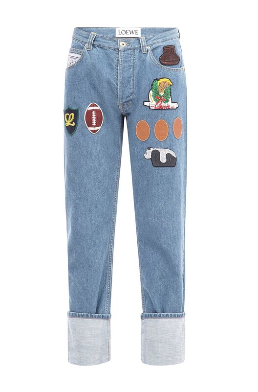 5 Pockets Trouser Patch