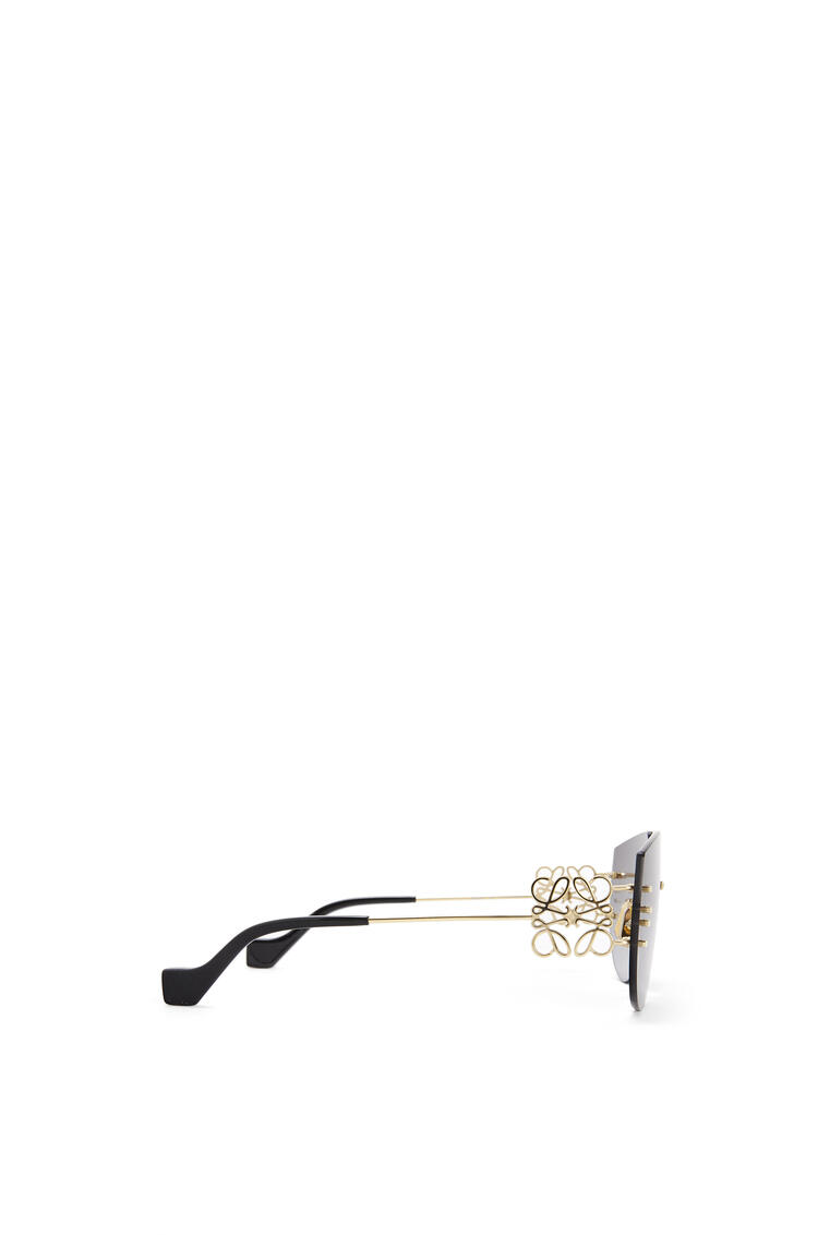 LOEWE Rimless mask Anagram sunglasses Gradient Smoke/Gold pdp_rd