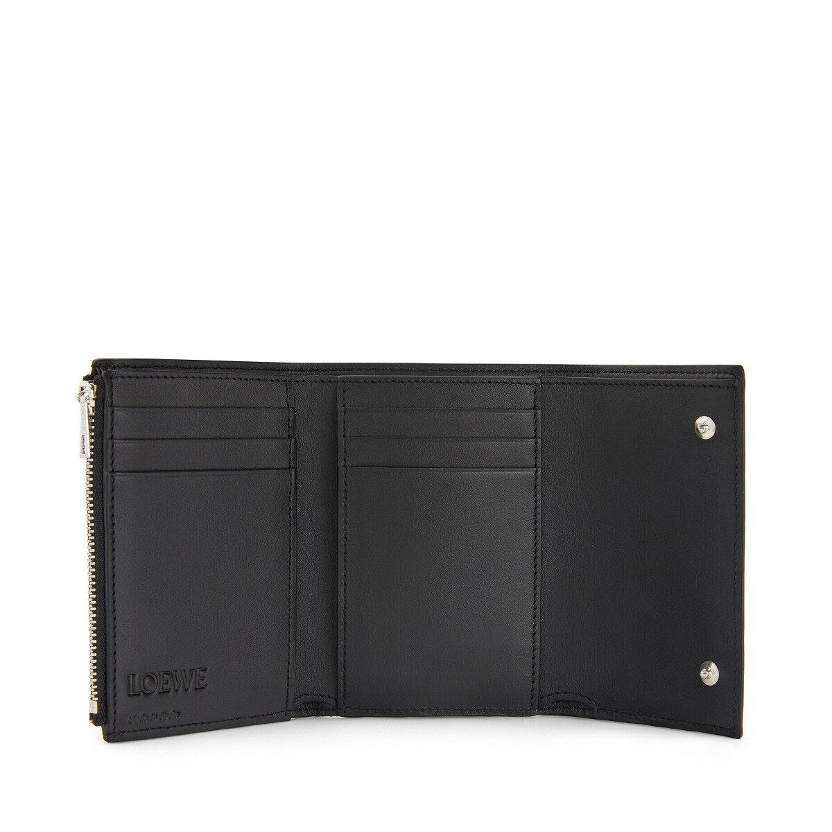 LOEWE Small Vertical Wallet Tan/Multicolor front