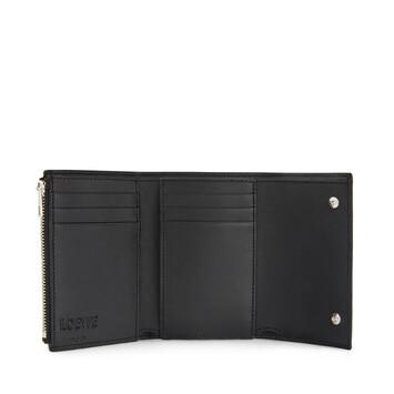 LOEWE Small Vertical Wallet タン/マルチカラー front