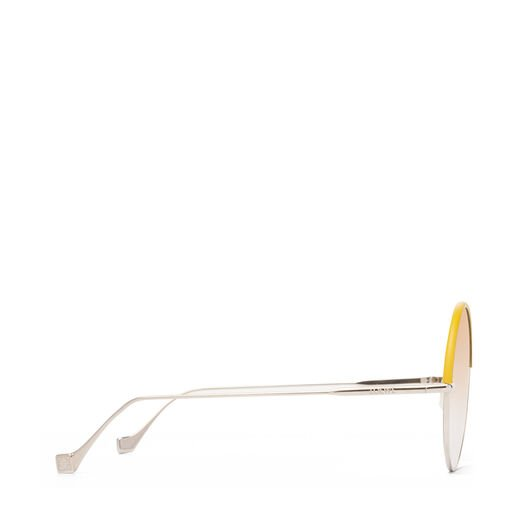 LOEWE Gafas Redondas Amarillo/Amarillo Degradado all