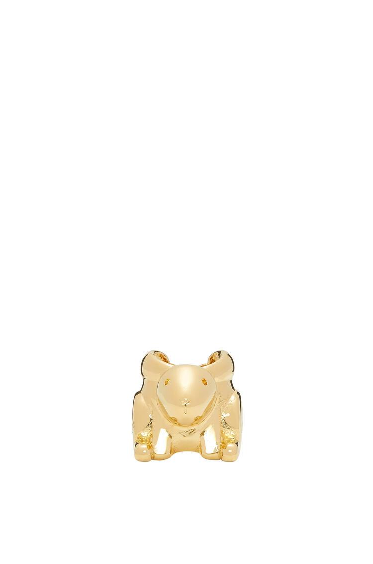 LOEWE Dado pequeño de animal en metal Oro pdp_rd