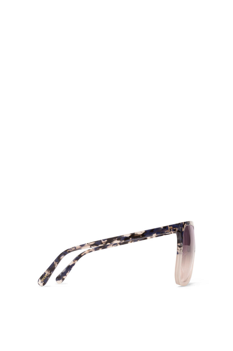 LOEWE Filipa Sunglasses in acetate Blue Havana/Light Grey/Gradien pdp_rd