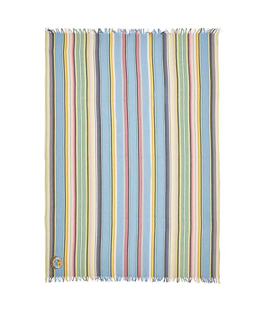 LOEWE 152X210 Scarf Stripes Sky-Blue/Green front