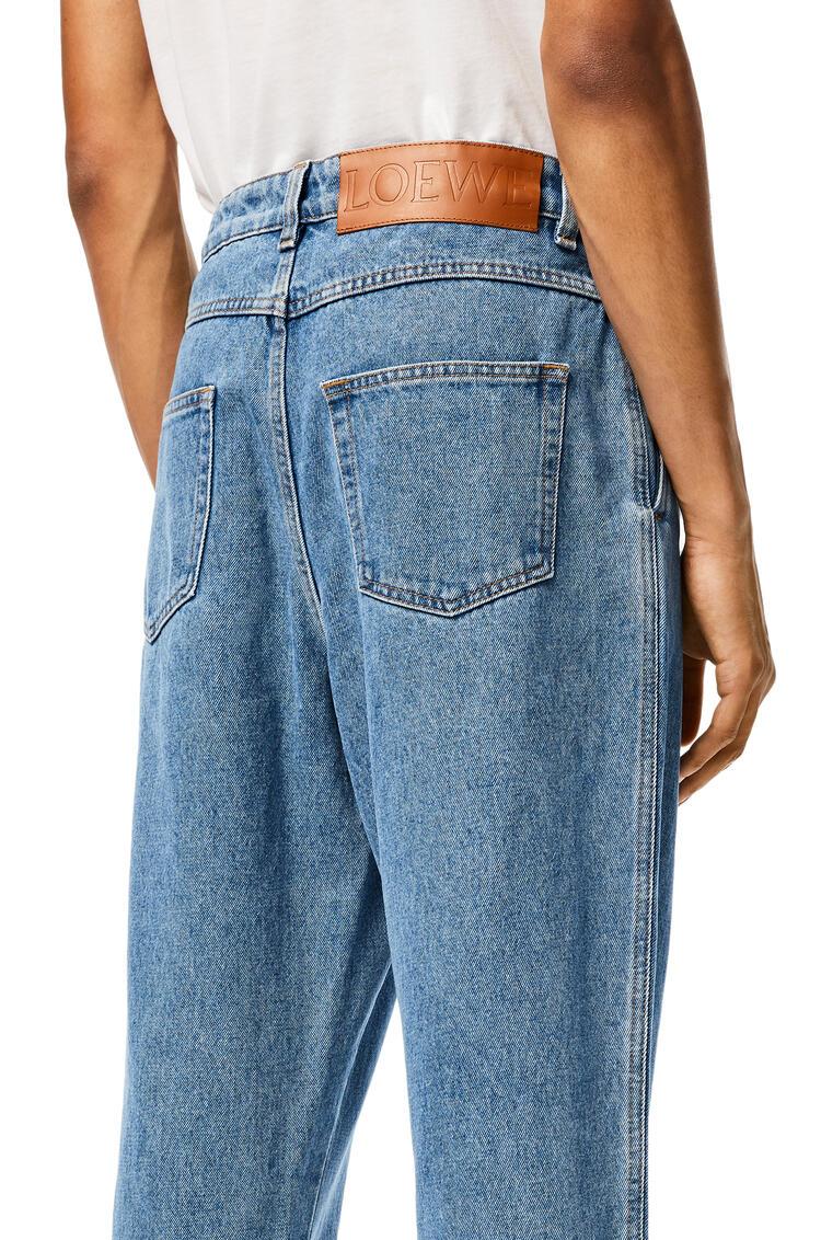 LOEWE Fisherman stonewash jeans in cotton Blue Denim pdp_rd