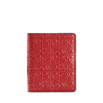 LOEWE Compact Zip Wallet Pomodoro front