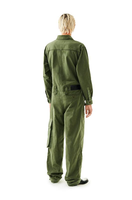 LOEWE Jumpsuit Dark Khaki G/Light Khaki G front
