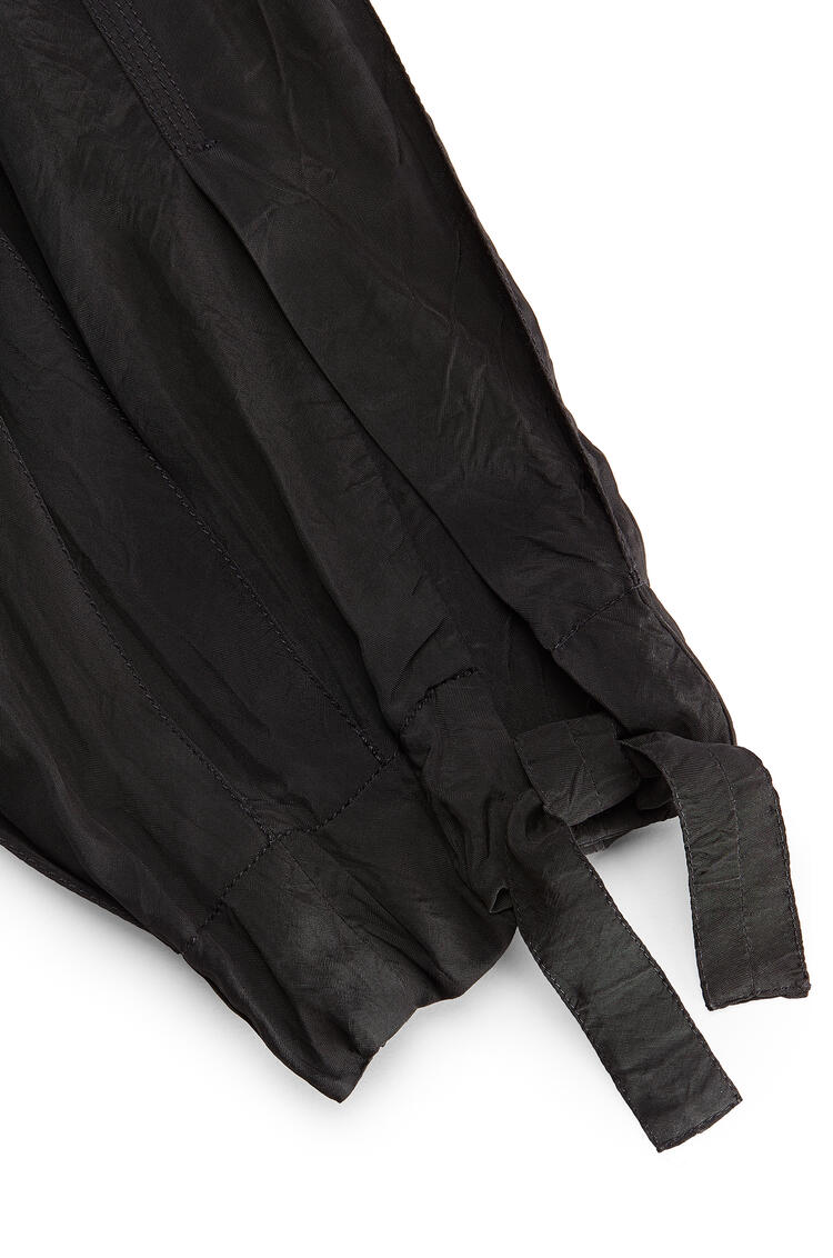 LOEWE Balloon trousers in viscose 黑色 pdp_rd