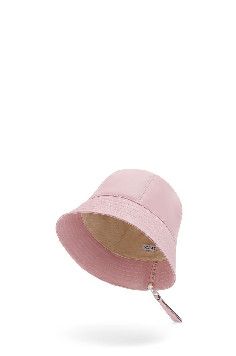 LOEWE 纳帕牛皮革水桶帽 Icy Pink pdp_rd