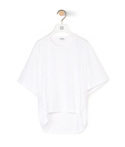 LOEWE Short Oversize Anagram T-Shirt White front