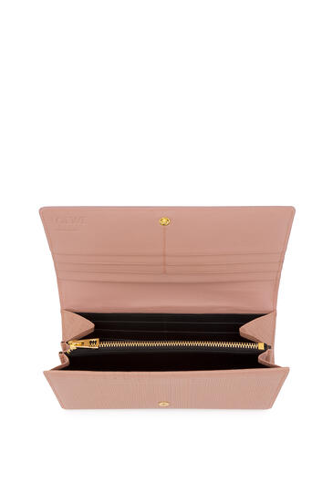 LOEWE Continental Wallet In Calfskin Blush pdp_rd
