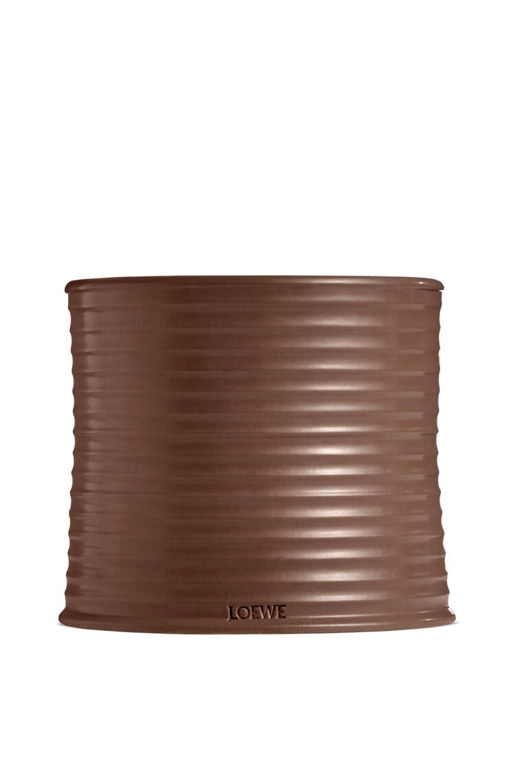 LOEWE Large Coriander candle Brown pdp_rd