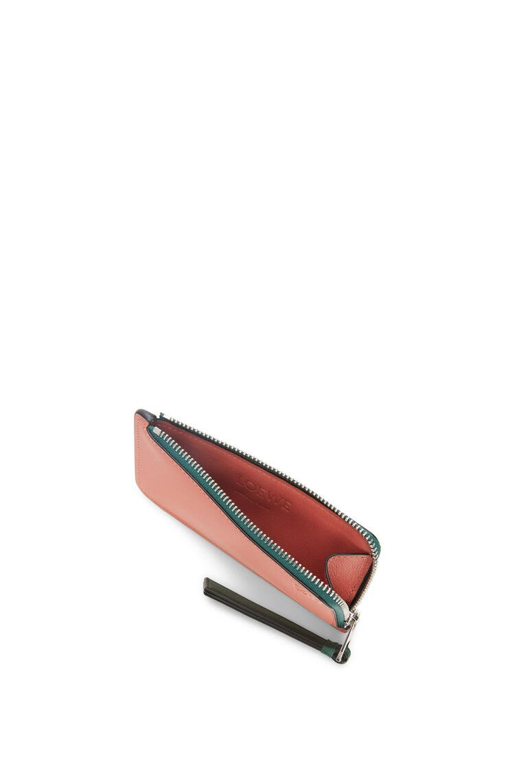 LOEWE Coin cardholder in classic calfskin Mint/Multicolor pdp_rd