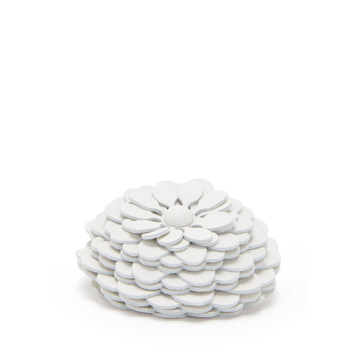 LOEWE Stud Flower Soft White front