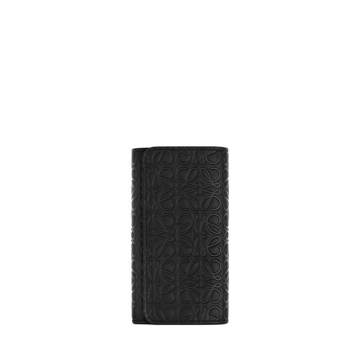 LOEWE 6 キー キーリング(カーフスキン) ブラック pdp_rd