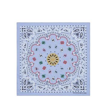 LOEWE 50X50 Bandana Embroideries Azul front