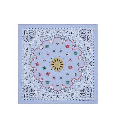 LOEWE 50X50 Bandana Embroideries Blue front