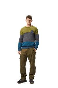 LOEWE Jersey de rayas Verde/Marino pdp_rd