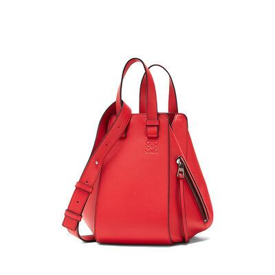 LOEWE Hammock Small Bag Scarlet Red front