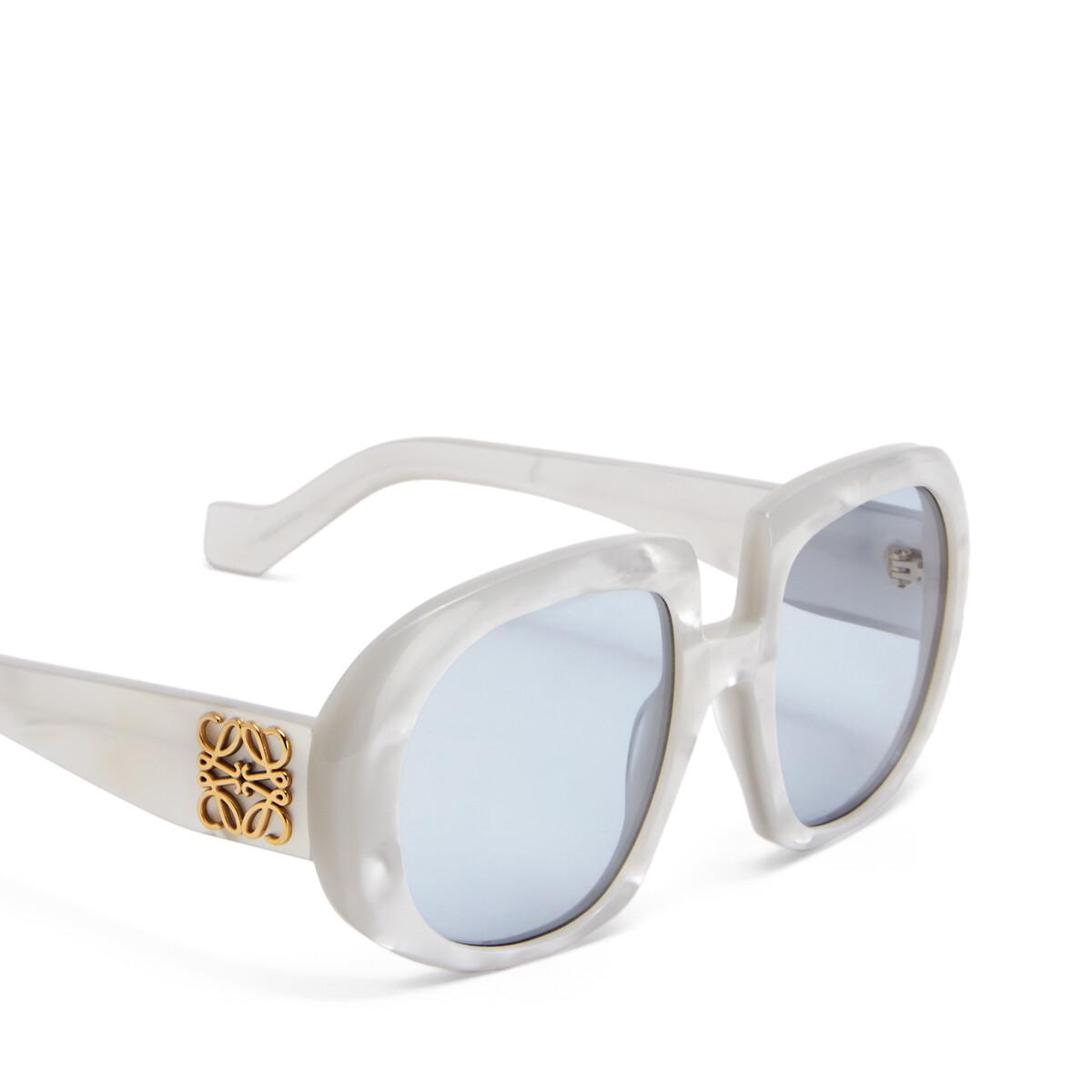 LOEWE Gafas Fw19 Show Anagrama Gris Perla/Azul front