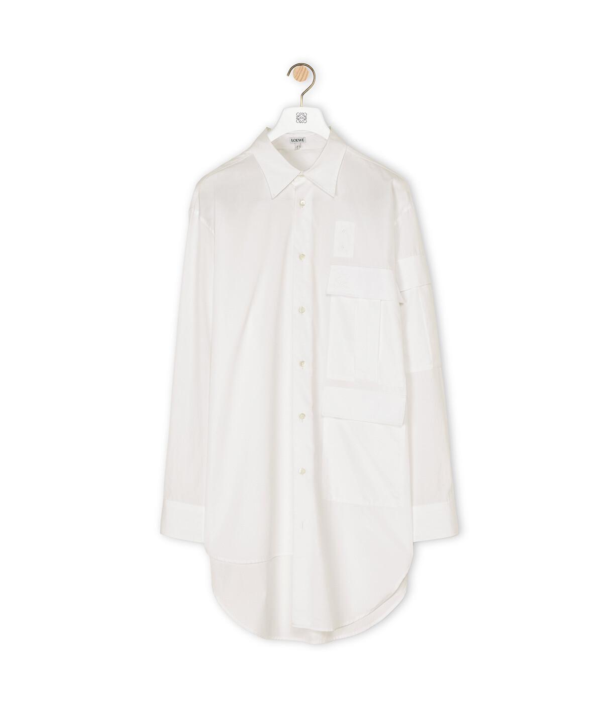 LOEWE Multipocket Shirt White front